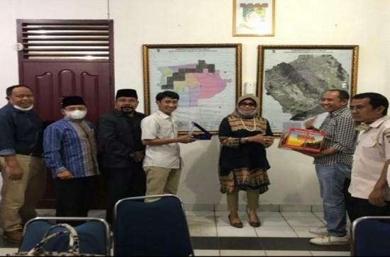 Kunjungan Kerja Anggota DPRD Kota Payakumbuh ke Dinas PUPR Kampar