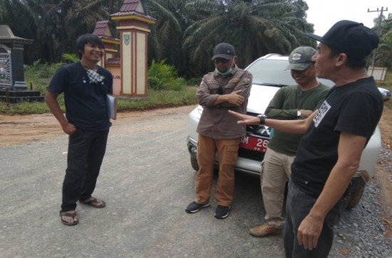 Monitoring dan Evaluasi (Monev) Pembangunan Infrastruktur Jalan di Kecamatan Tapung Hulu