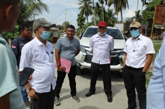 Monitoring dan Evaluasi (Monev) Pembangunan Infrastruktur Jalan di Kecamatan Salo